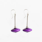 Purple Masurkka earrings
