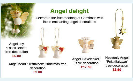 Angel Christmas decorations