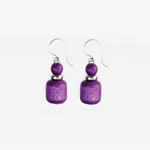 Etydi earrings (purple)