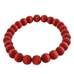 Red bead necklace - Suomi