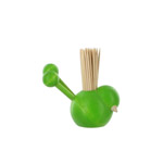 Green toothpick holder - Lintunen
