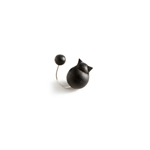 Cat pin - black