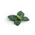 Green brooch - butterfly 'Perho'
