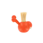 Aarikka toothpick holder - orange 'Lintunen'