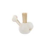 White toothpick holder - Lintunen