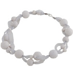White bead necklace - Ulpukka