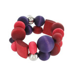 mixed red bracelet Rentukka