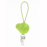 towel clip - green bird Lintunen