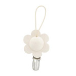 towel clips - white flower Kukka