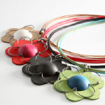 Lootus wood necklaces